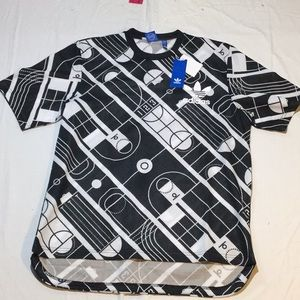 ADIDAS authentic T-track shirt (new with tags!)